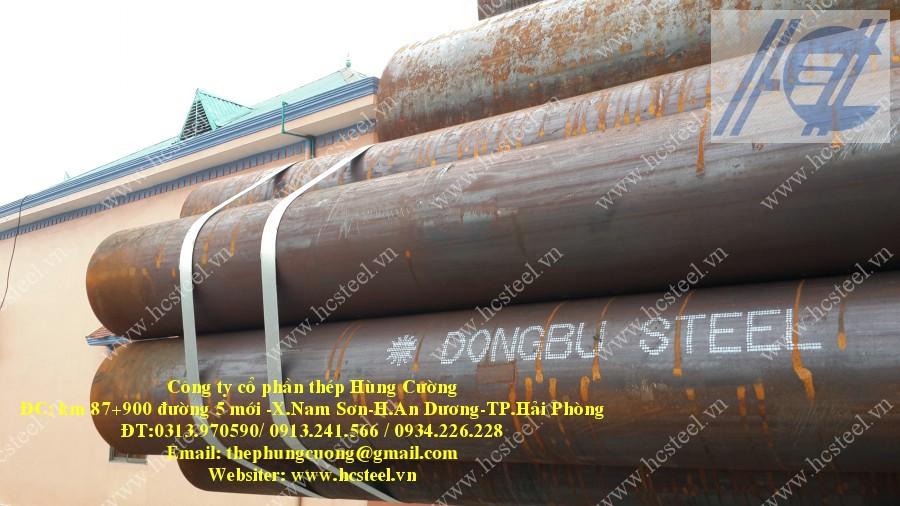 ống thép hàn cao tần 323.9 x 8.0mm x 6m