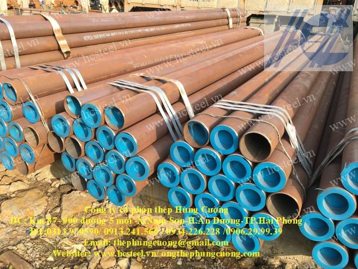 ống thép đúc 140 x 6.55mm x 6m